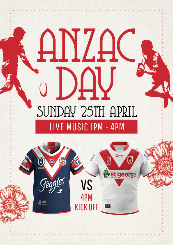 Anzac Day - Union Place Hotel
